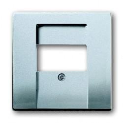 Накладка на мультимедийную розетку ABB, алюминий, 1710-0-3659