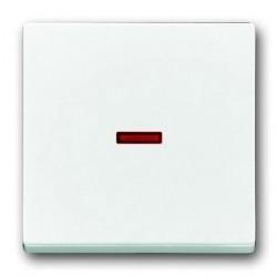 Клавиша с линзой ABB, белый, 1751-0-3091