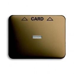 Накладка на карточный выключатель ABB, бронзовый, 1710-0-3294