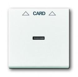 Накладка на карточный выключатель ABB, альпийский белый, 1710-0-3641