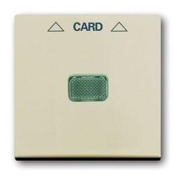 Накладка на карточный выключатель ABB BASIC55, слоновая кость, 1710-0-3865
