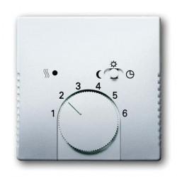 Накладка на термостат ABB PURE СТАЛЬ, стальной, 1710-0-3756