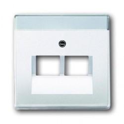 Накладка на розетку информационную ABB, белый, 1710-0-1551