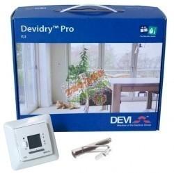 DEVIdryтм Pro Kit 55: Devireg 535 + соединит.кабель 3 м.,10А + ключ для разъемов + алюм.скотч