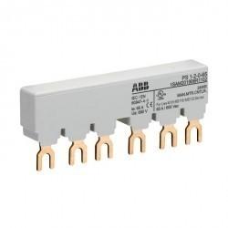 Шинная разводка 3-фазн. PS1-4-0-65 до 65А для 4-х автоматов типа MS116, MS132, MS132-T, MO132 без доп. контактов