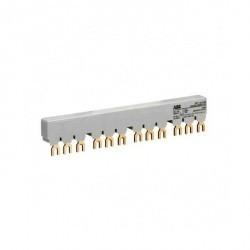 Шинная разводка 3-фазн. PS1-5-0-65 до 65А для 5-и автоматов типа MS116, MS132, MS132-T, MO132 без доп. контактов