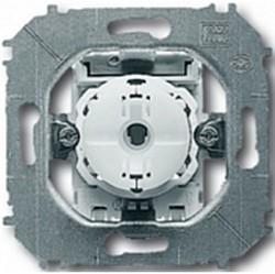 Механизм переключателя 1-клавишного ABB IMPULS, с подсветкой, скрытый монтаж, 1012-0-2109