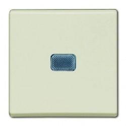 Выключатель 1-клавишный ABB BASIC55, с подсветкой, скрытый монтаж, chalet-white, 1012-0-2185