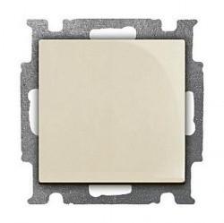 Выключатель 1-клавишный ABB BASIC55, скрытый монтаж, слоновая кость, 1012-0-2146