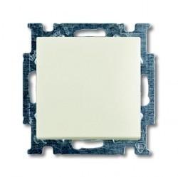 Выключатель 1-клавишный ABB BASIC55, скрытый монтаж, chalet-white, 1012-0-2184