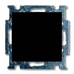 Переключатель 1-клавишный ABB BASIC55, скрытый монтаж, château-black, 1012-0-2179