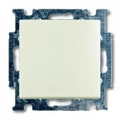 Переключатель 1-клавишный ABB BASIC55, скрытый монтаж, chalet-white, 1012-0-2189