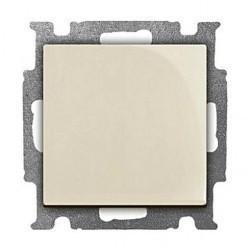 Переключатель 1-клавишный перекрестный ABB BASIC55, скрытый монтаж, слоновая кость, 1012-0-2152
