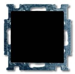 Переключатель 1-клавишный перекрестный ABB BASIC55, скрытый монтаж, château-black, 1012-0-2182