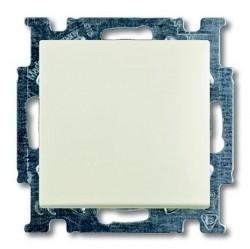 Переключатель 1-клавишный перекрестный ABB BASIC55, скрытый монтаж, chalet-white, 1012-0-2192