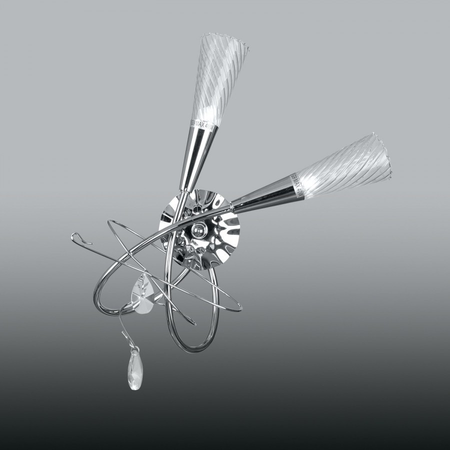Lightstar (SB1105/2L)  Бра AEREO 2х25W G9 CHROME, 711624