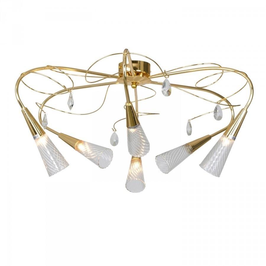 Lightstar (SX1105/6 K)  Люстра AEREO 6х25W G9 GOLD, 711062