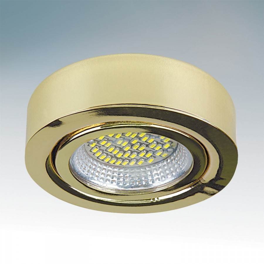 Lightstar Светильник MOBILED LED 3.5W 270LM 90G ЗОЛОТО 3000K, 003132