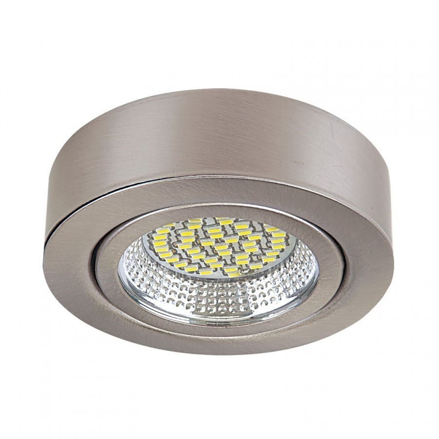 Lightstar Светильник MOBILED LED 3.5W 270LM 90G НИКЕЛЬ 4000K, 003335