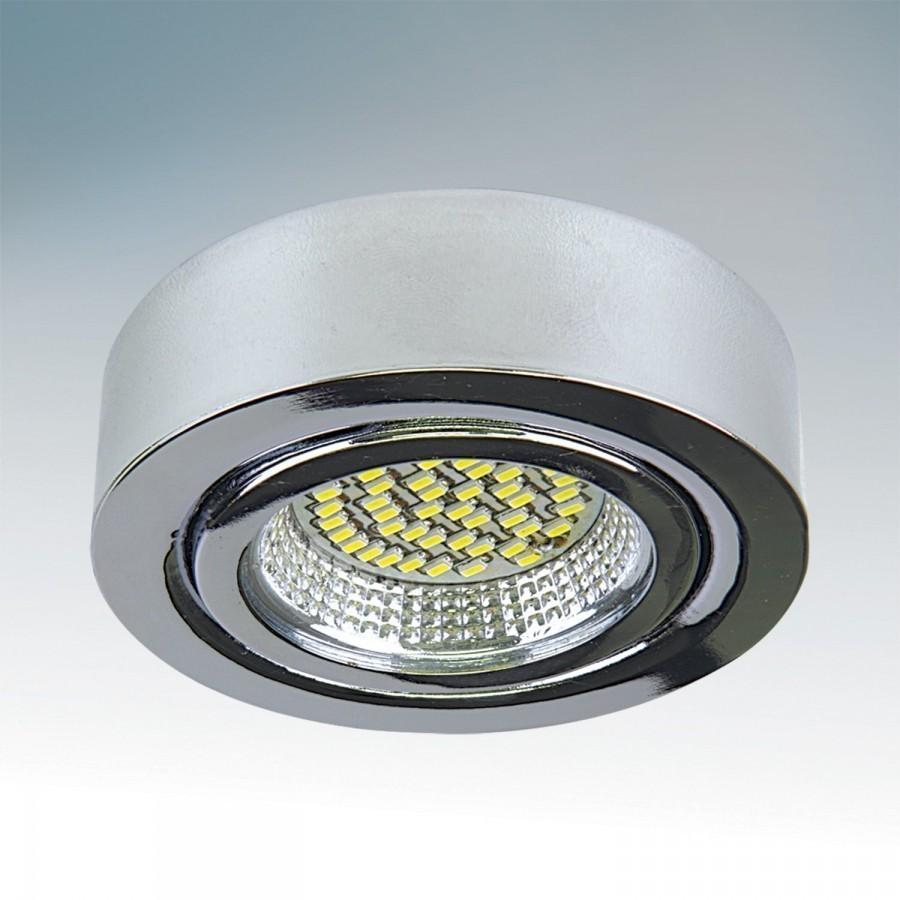 Lightstar Светильник MOBILED LED 3.5W 270LM 90G ХРОМ  3000K, 003134