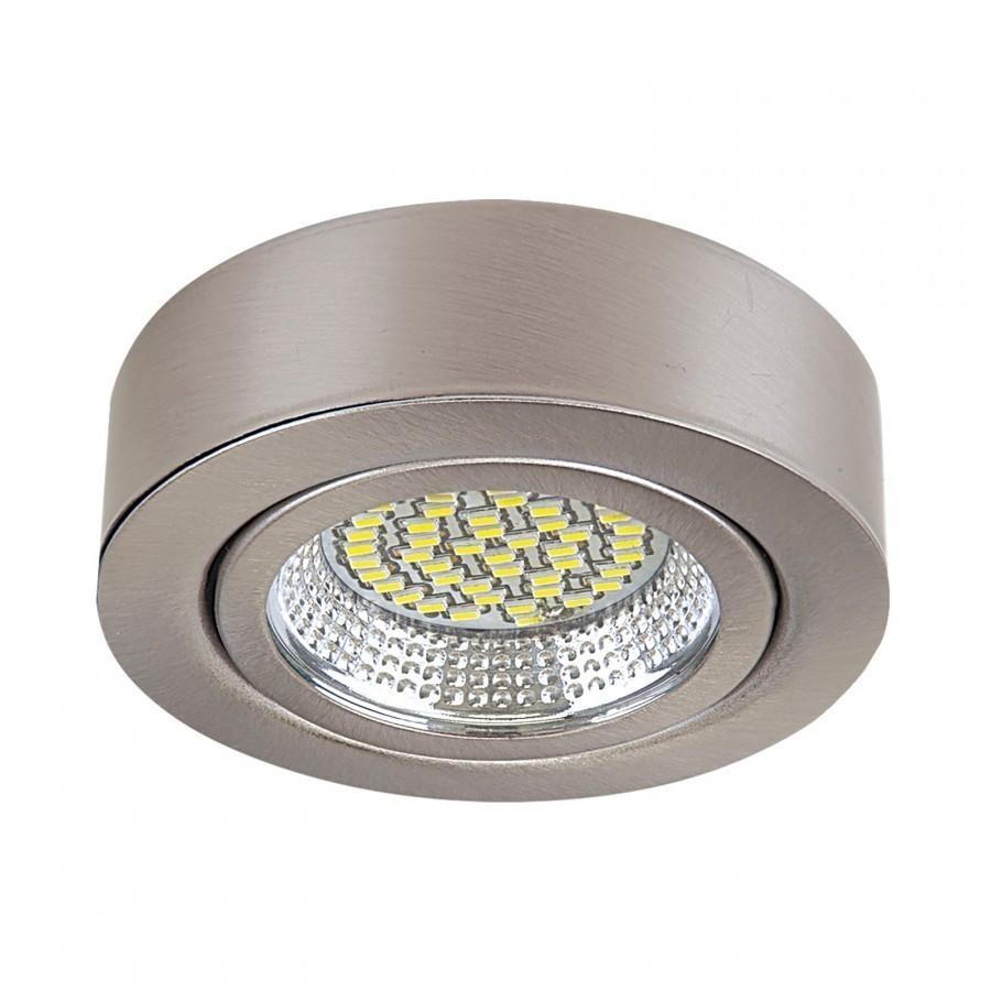 Lightstar Светильник MOBILED LED 3.5W 270LM 90G НИКЕЛЬ 3000K, 003135