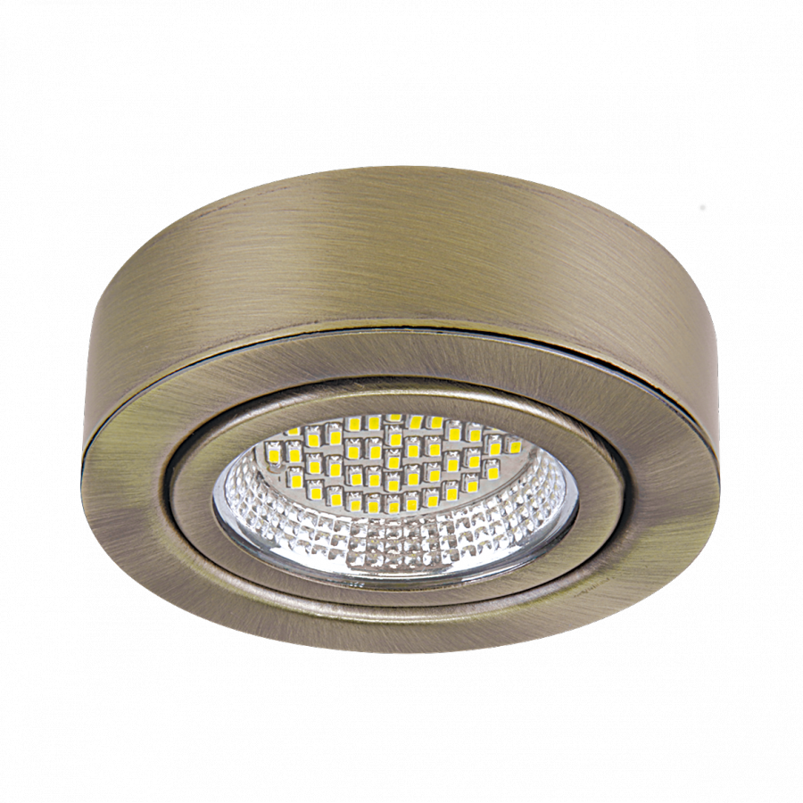 Lightstar Светильник MOBILED LED 3.5W 270LM 90G БРОНЗА ЗЕЛЕНАЯ 4000K, 003331