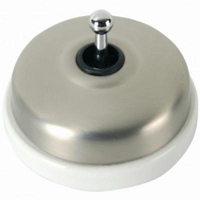 Выключатель тумблерный Fontini DIMBLER, никель, 60308562
