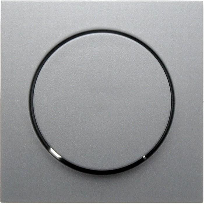 Накладка на светорегулятор Berker, алюминий матовый, 11371404