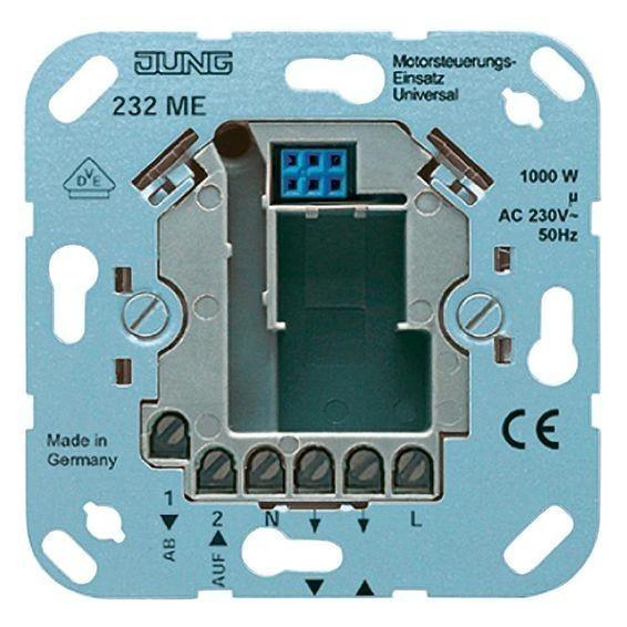 Механизм кнопочного выключателя для жалюзи Jung Коллекции JUNG, 230ME