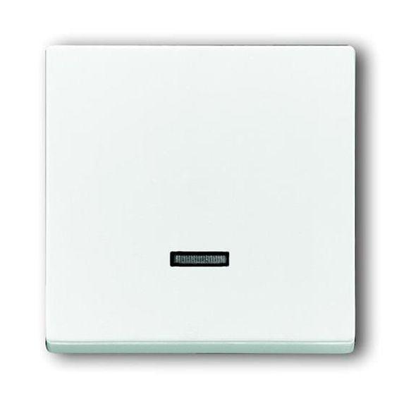 Накладка на светорегулятор ABB BASIC55, альпийский белый, 6599-0-2997