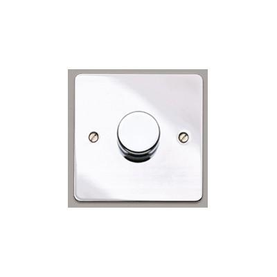 Стандартный диммер-переключатель MK Electric 75-500W, K1551PCR, полированный хром