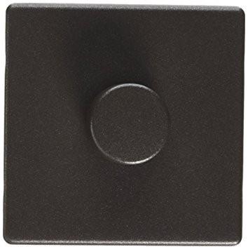 Электронный диммер-переключатель MK Electric 60-500W/60-400VA, K24301TIR, текстурированное железо