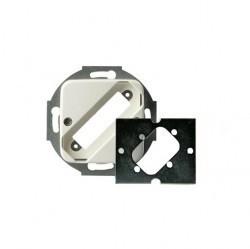 Механизм розетки 1xRJ11/RJ12/RJ45 Cat.3 ABB SKY, 2CLA201730A1001