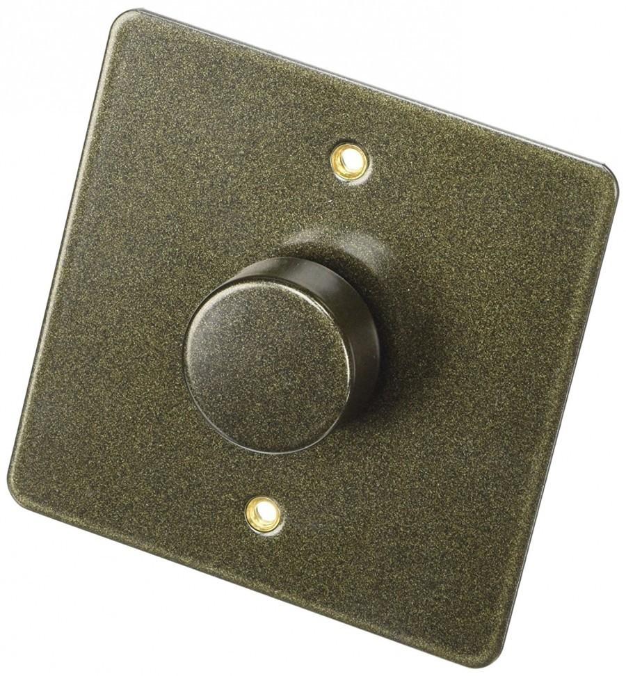 Электронный диммер-переключатель MK Electric 60-500W/60-400VA, K14301ABS, античная латунь