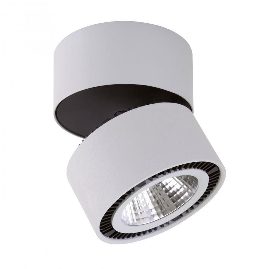 214859 Светильник  FORTE MURO LED 40W 3400LM 30G СЕРЫЙ 4000K, шт, 214859