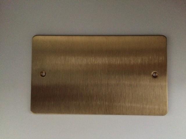 Заглушка, K14329PBR, Полированная латунь