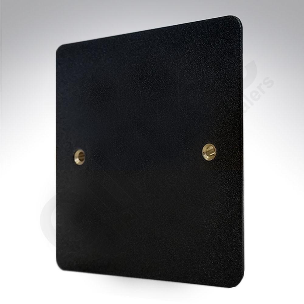 Заглушка, K14330LBK, Черный глянцевый