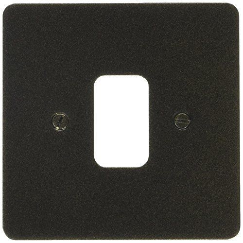 Лицевая панель для 1 модуля GRID, K14331ABS, Античная латунь