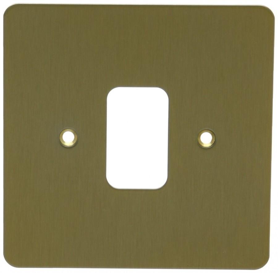 Лицевая панель для 1 модуля GRID, K14331SAG, Атласное золото