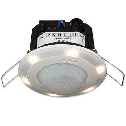 Датчик присутствия B.E.G. PD2N-M-1C-LED-FC, 94055