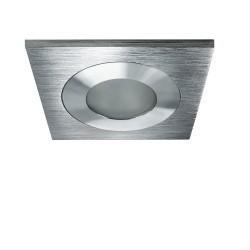 Lightstar Светильник LEDDY QUAD LED 3W 240LM АЛЮМИНИЙ 3000K в стену в подрозетник  с трансф (в комплект, 212180