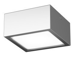Lightstar Светильник ZOLLA QUAD LED-SQ 10W 780LM ХРОМ 4000K IP44, 213924