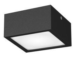 Lightstar Светильник ZOLLA QUAD LED-SQ 10W 780LM ЧЕРНЫЙ 4000K IP44, 213927