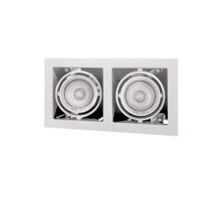 Встраиваемый светильник Lightstar Cardano 214020 16х2 mr16/hp16 белый