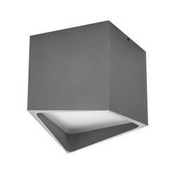 Lightstar Светильник QUADRO LED 12W 960LM СЕРЫЙ 4000K IP55, 214479
