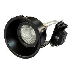 Lightstar Светильник DOMINO ROUND МR16 ЧЕРНЫЙ, 214607