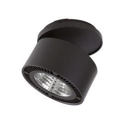 Lightstar Светильник  FORTE INCA LED 26W 1950LM 30G ЧЕРНЫЙ 4000K, 214827