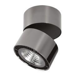 Lightstar Светильник  FORTE MURO LED 26W 1950LM 30G ЧЕРНЫЙ ХРОМ 4000K, 214838
