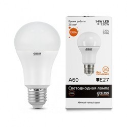 Лампа Gauss Elementary LED 23214