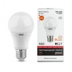 Лампа Gauss Elementary LED 23217А
